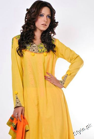 Aijazz Aslam Latest Women Winter Collection 2011 2012 style.pk 005 pakistani dresses designer dresses