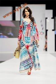 Kaftan Fashion Week 2011 on Fashion Week 2011 Ammar Belal Funky Collection At Pfdc Sunsilk Fashion