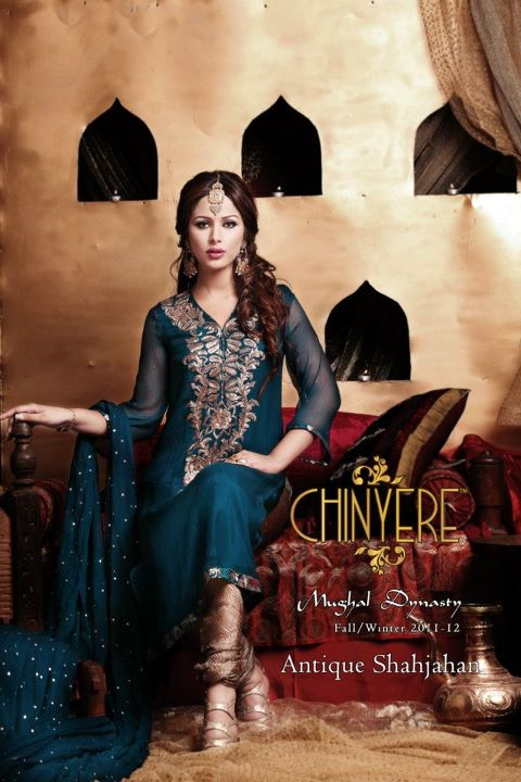 Chinyere Mughal Dynasty Winter Collection 2011-2012