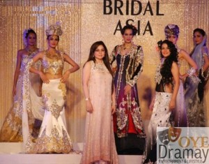 Honey Waqar collection at bridal asia week (3)