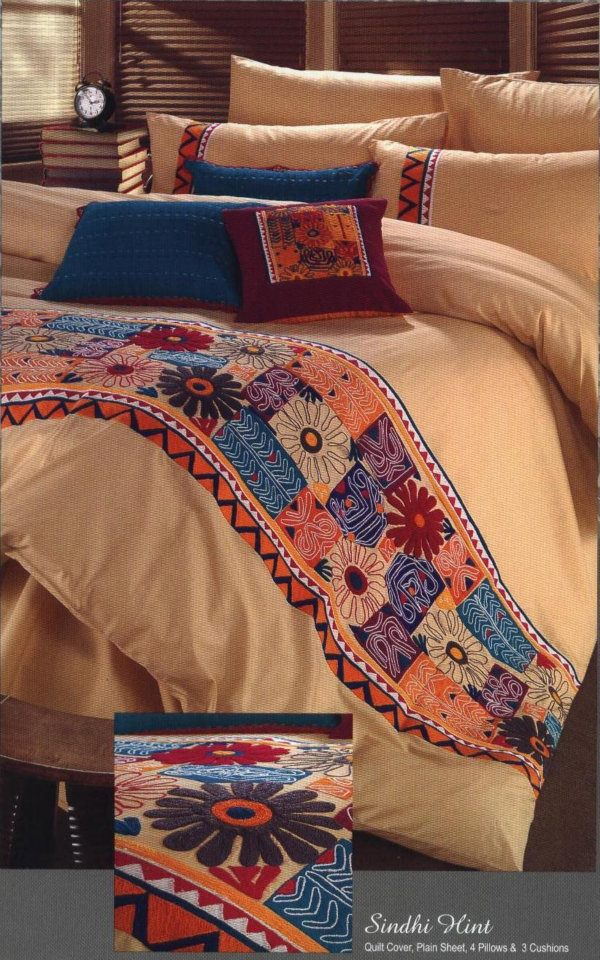 Exclusive Bed-Linen at Home Expressions by Bareeze 001 style.pk
