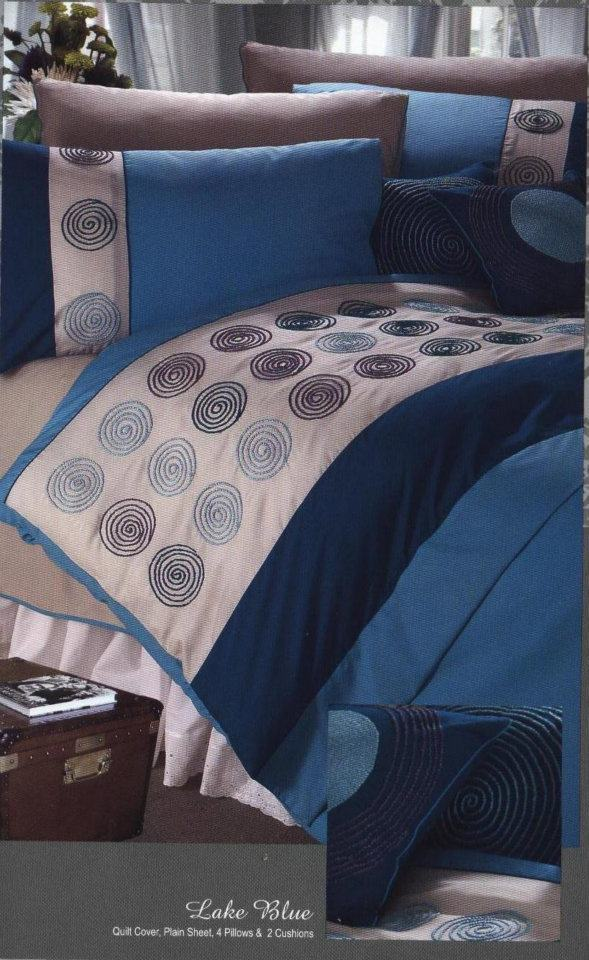 Bed Cover Designs Pakistani