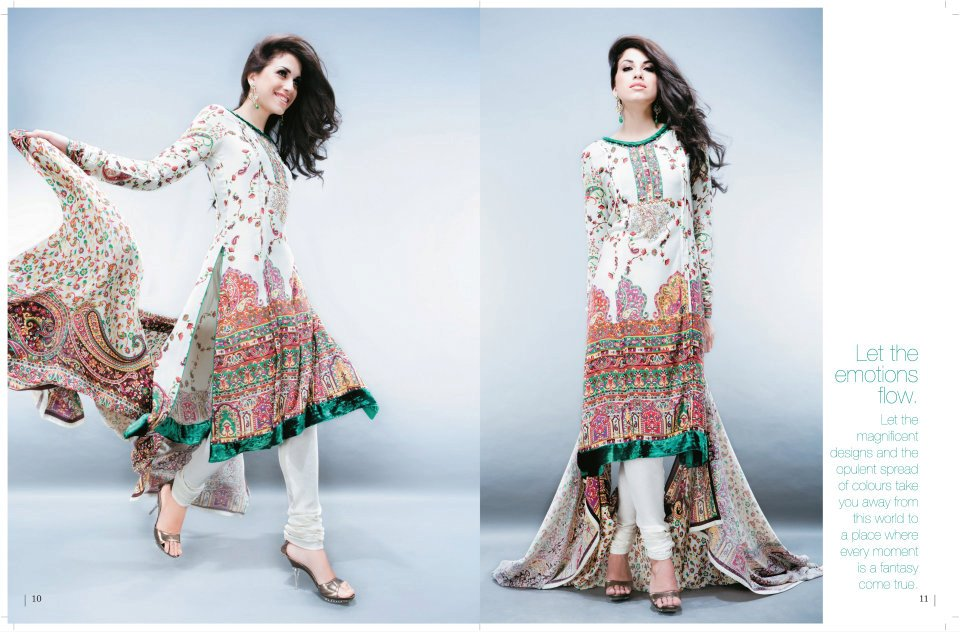 Five Star Winter Collection 2011 2012 for Women style.pk 002 local designer clothes for women for women local brands