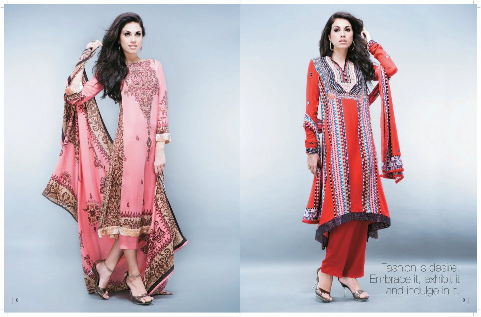 Five Star Winter Collection 2011 2012 for Women style.pk 003 local designer clothes for women for women local brands