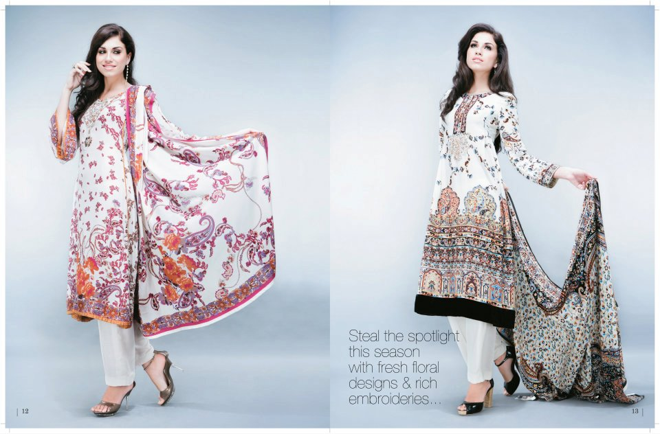 Five Star Winter Collection 2011 2012 for Women style.pk 005 local designer clothes for women for women local brands