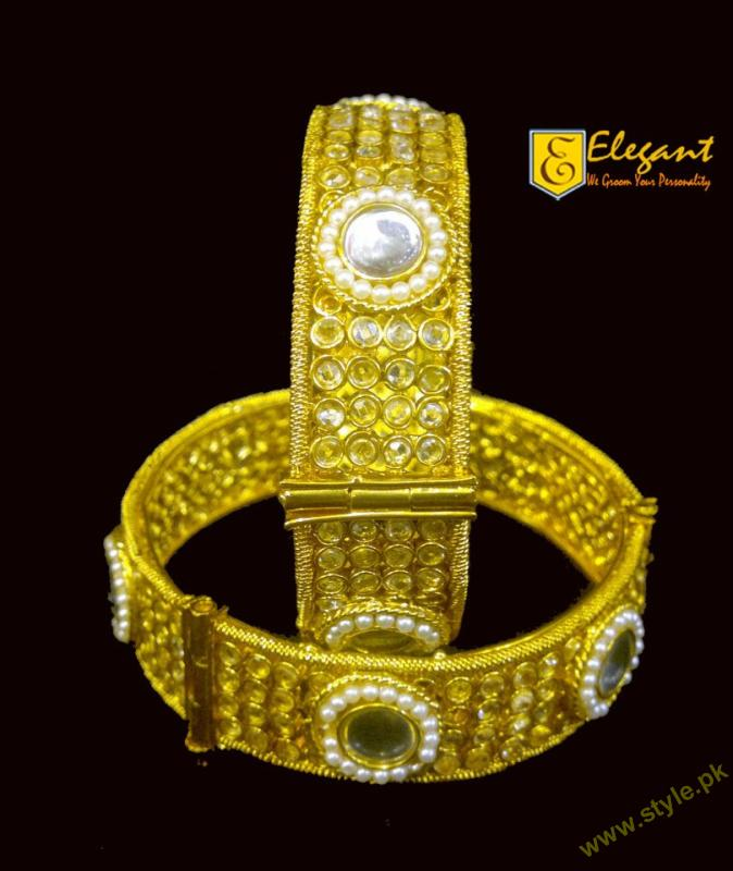 Gold & Silver Platted Bangles Collection By Elegant Artificial Jewellery 2011-7 style.pk