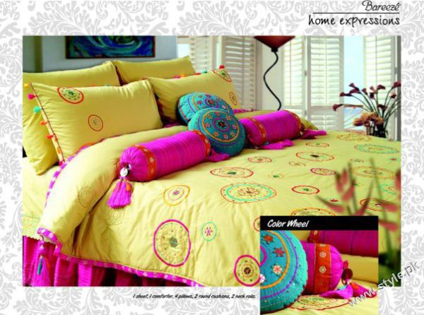 Home Expressions Bed sets by Bareeze style.pk 007 stylish interior designing furnitures home expressions bareeze pakistani brand