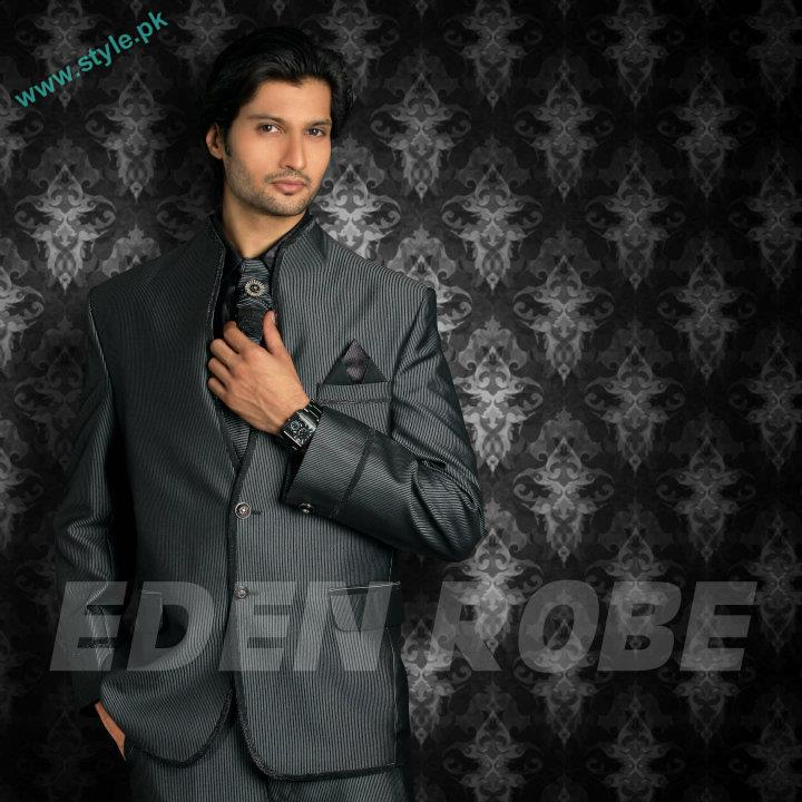 Latest Grooms Collection By Eden Robe 2011 12 2 style.pk  men wear bridal dresses