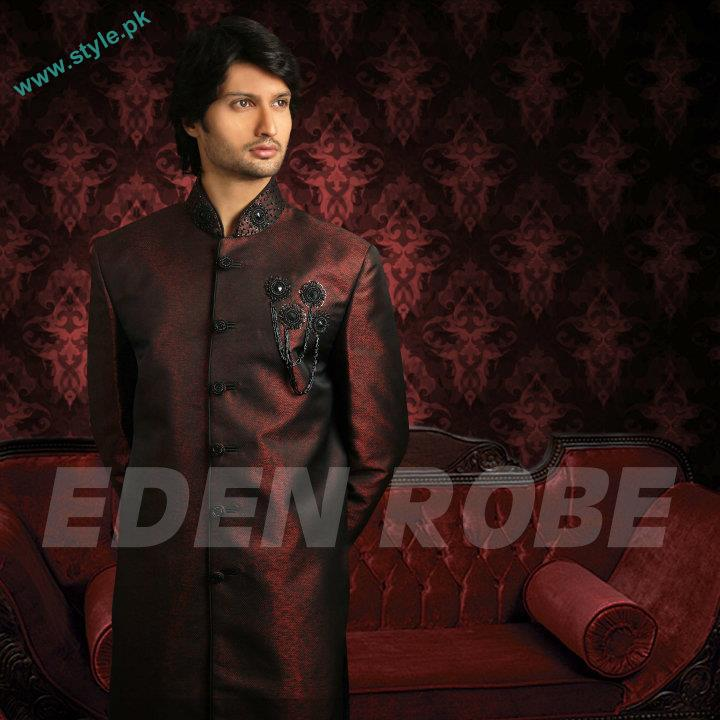 Latest Grooms Collection By Eden Robe 2011 12 3 style.pk  men wear bridal dresses