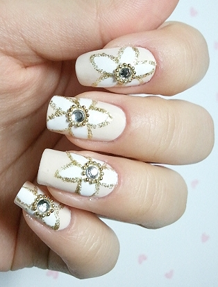 Chic Look Nail Art Ideas for Winter Holidays 2011_03