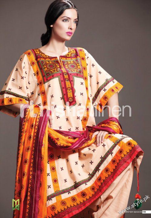 Nisha Winter Collection 2011 2012 by Nishat Linen style.pk 002 fashion brands