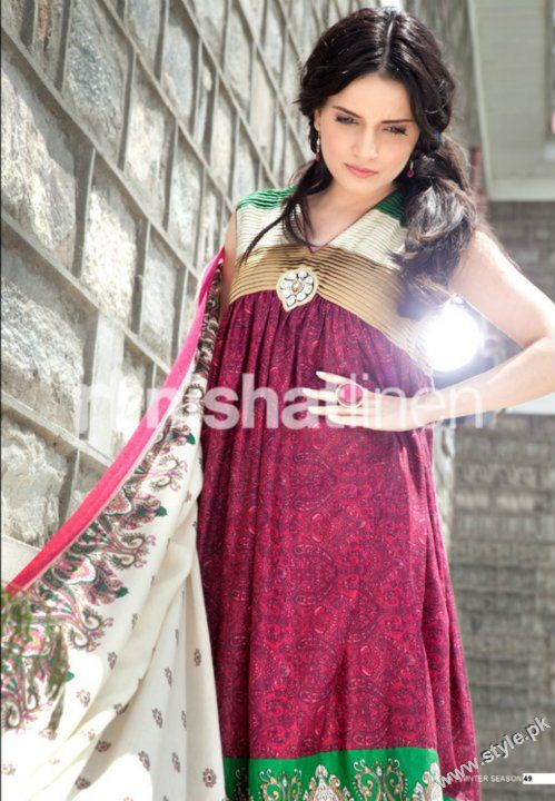 Nisha Winter Collection 2011 2012 by Nishat Linen style.pk 005 fashion brands