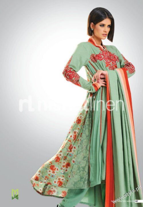 Nisha Winter Collection 2011 2012 by Nishat Linen style.pk 007 fashion brands