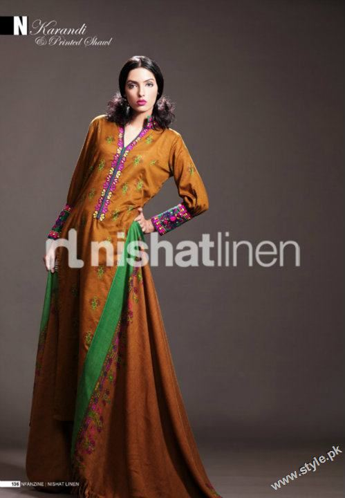 Nisha Winter Collection 2011 2012 by Nishat Linen style.pk 010 fashion brands