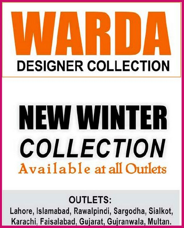 Warda Saleem Designer Collection – Winter Collection 2011