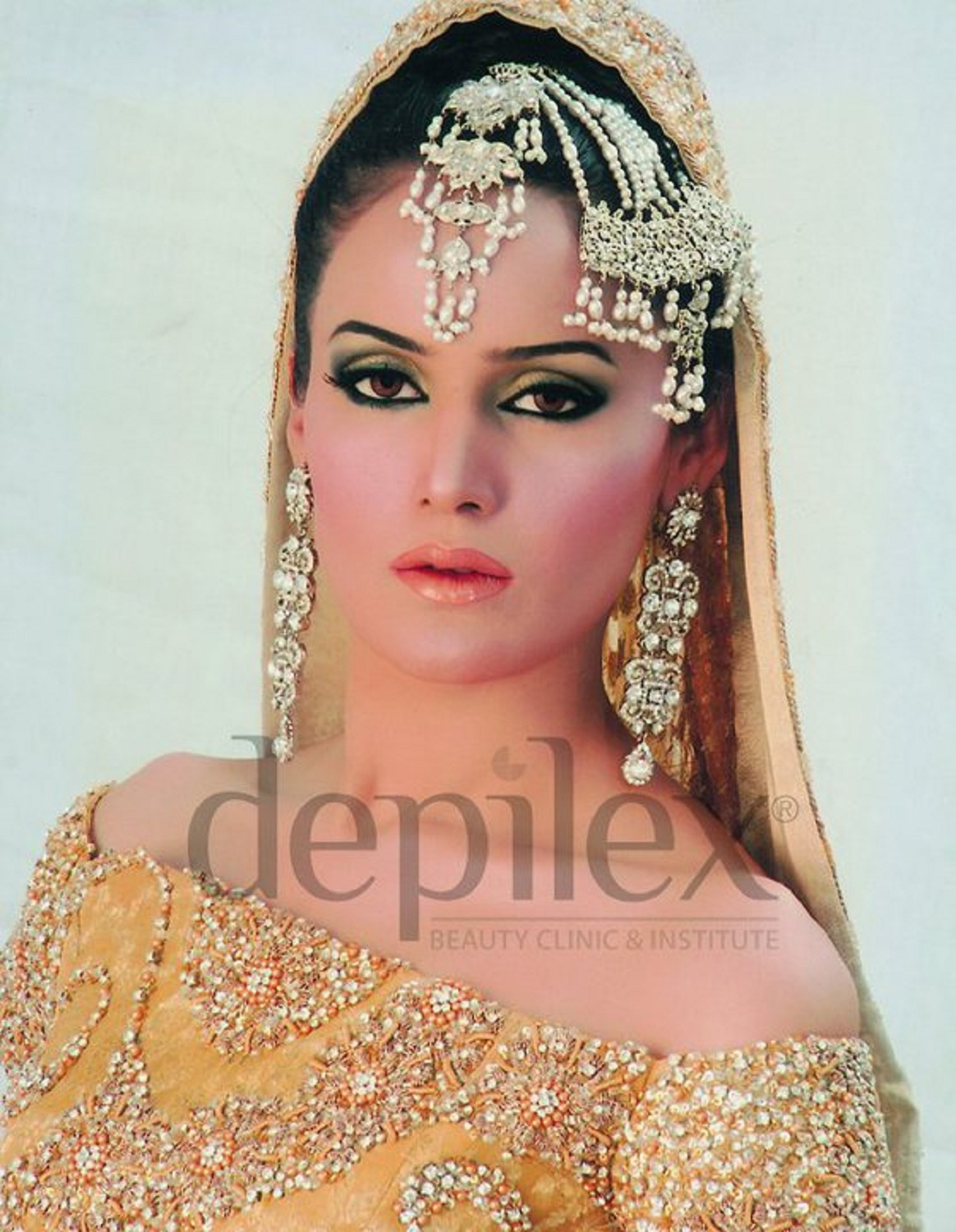 Depilex Bridal Makeup : brides made by depilex beauty salon style.pk 006 Style.Pk
