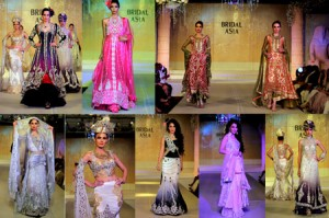 Honey Waqar collection at bridal asia week (2)