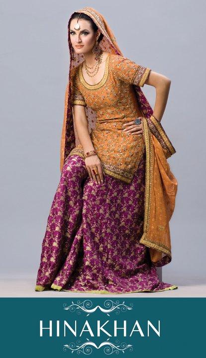 Designer Hina Khan Latest Bridal Wear Collection
