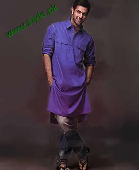 Junaid Jamshed Kurta Designs For Winter 2011 12 004 men wear