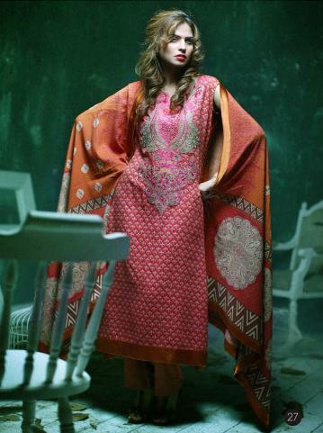 Lakhany Silk Mills LSM Gorgeous Wintery Collection 2011 2012 b local designer clothes for women lakhani clothes