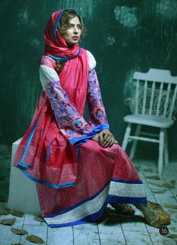 Lakhany Silk Mills LSM Gorgeous Wintery Collection 2011 2012 e local designer clothes for women lakhani clothes