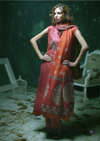 Lakhany Silk Mills LSM Gorgeous Wintery Collection 2011 2012 g1 local designer clothes for women lakhani clothes