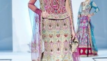 Latest Bridal Wears By Ekta Solanki At IAFA 2011-005
