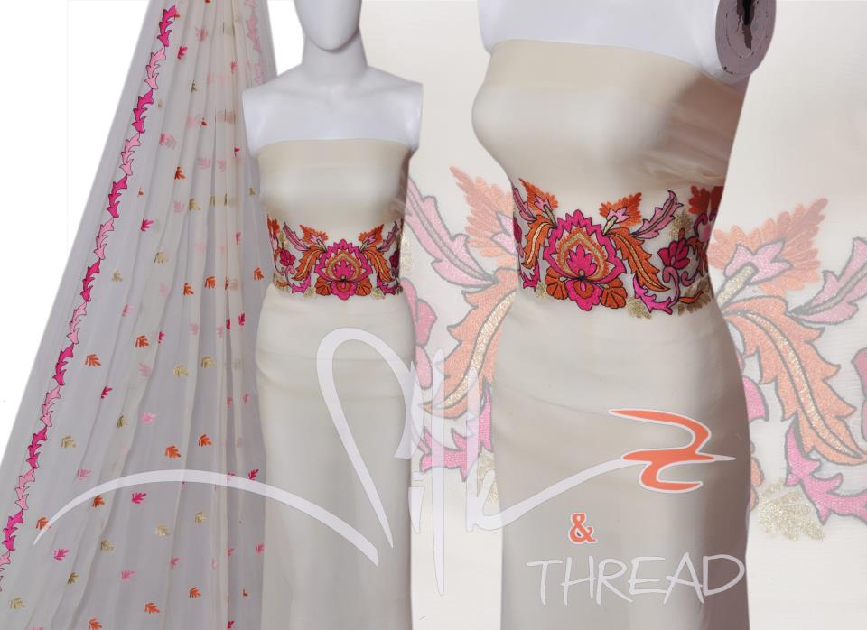 Latest Embroidery Dresses for Women by Silk and Thread 02 designer dresses