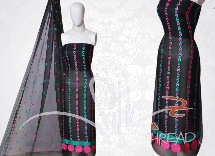 Latest Embroidery Dresses for Women by Silk and Thread 04 designer dresses