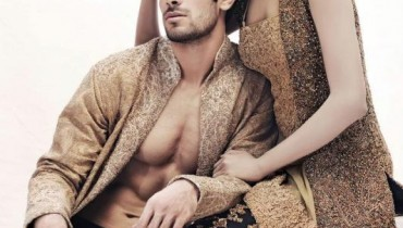 Latest Party Wears For Men & Women By HSY 2012-005