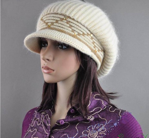 Latest Trend Of Women Winter Caps and Hats 2012 f9dd16ba1c8