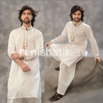 Naqsh Men Embroidery Kurta Collection by Nishat Lenin