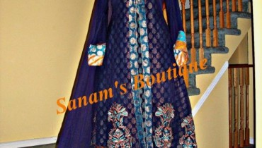 Sanam's Boutique Latest Evening Wears 2011-12-006