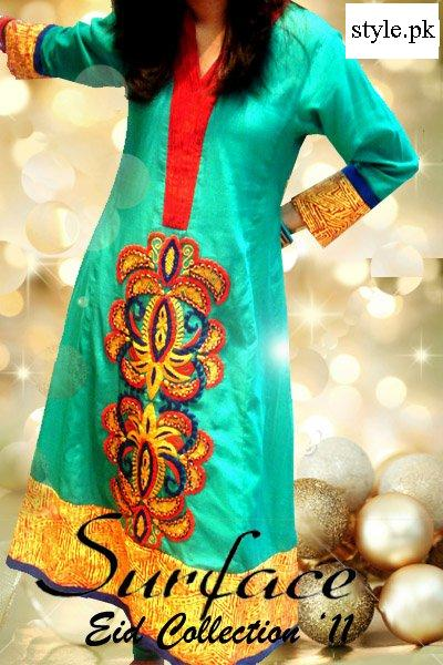 Pakistani Fashion Dresses 2011 on Latest Pakistani Fashion Frock Designs For Women