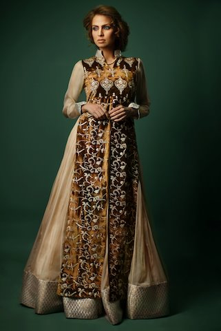 Threads and Motifs Latest Collection for Women 2011 2012 06 new fashion designer dresses
