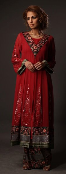 Threads and Motifs Latest Collection for Women 2011 2012 07 new fashion designer dresses