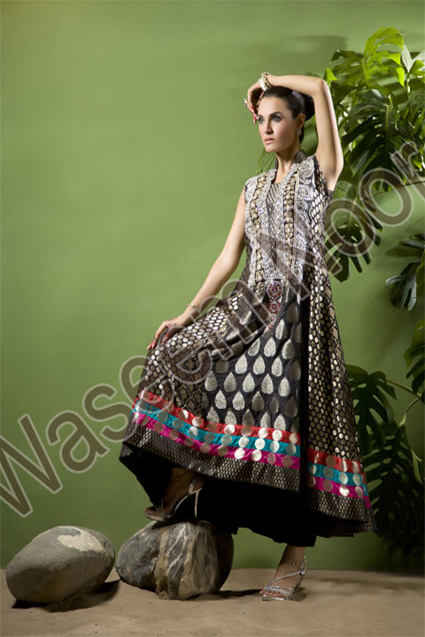 Waseem Noor Collection 2011 2012 f designer dresses