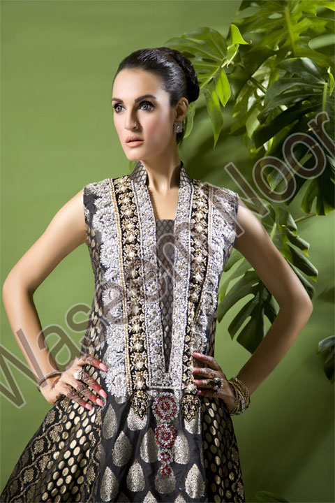 Waseem Noor Formal and semi Formal Collection 2011 2012 b designer dresses