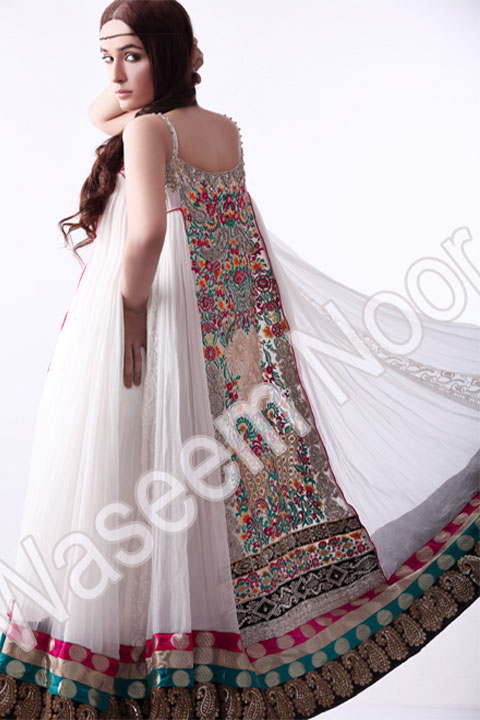 Waseem Noor Formal and semi Formal Collection 2011 2012 c designer dresses