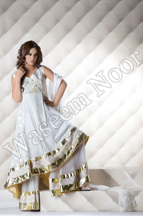 Waseem Noor Formal and semi Formal Collection 2011 2012 g designer dresses