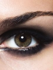 Smokey eyes makeup (2)