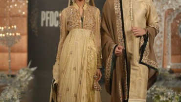 Asifa and Nabeel 2012 in PFDC L'Oreal Paris Bridal Week 1