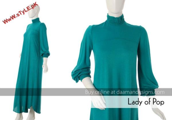 Daaman Winter Dresses For Women 2012 005 for women local brands