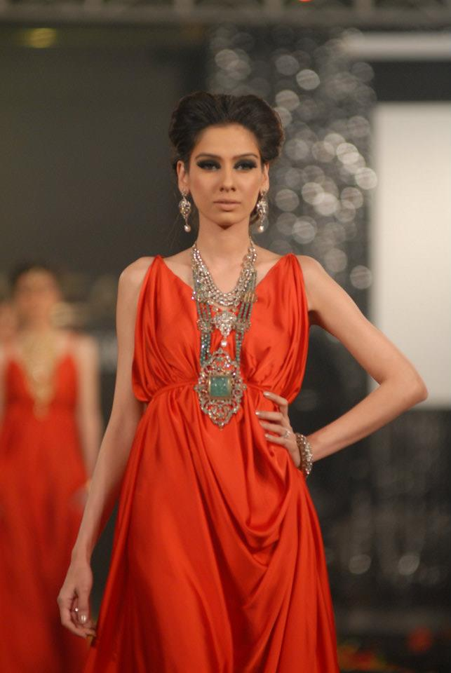 Damas Jewellery in PFDC LOreal Paris Bridal Week a