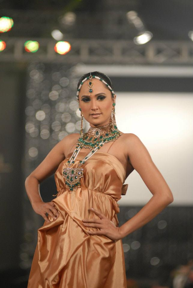 Damas Jewellery in PFDC LOreal Paris Bridal Week d