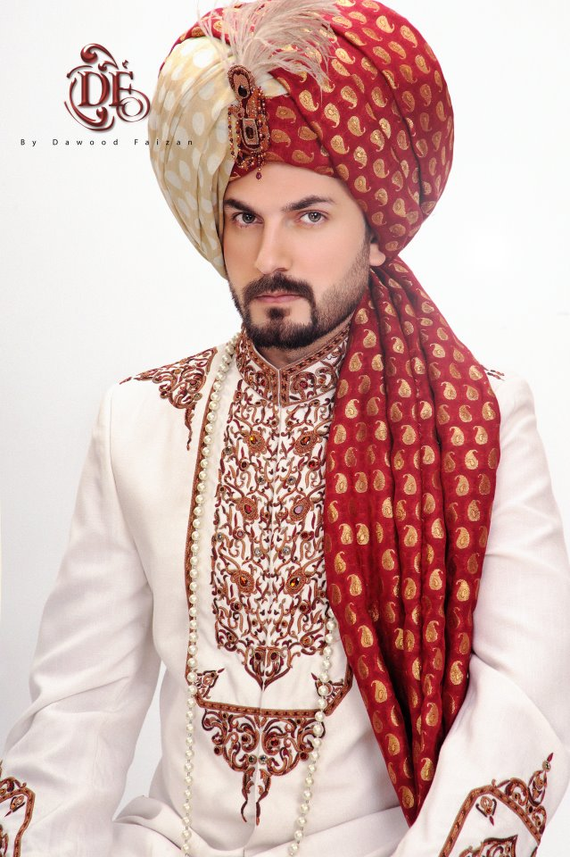 Dawood Faizan Kurta and Sherwani Designs For men 2012 d men wear