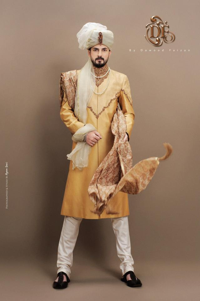 Dawood Faizan Kurta and Sherwani Designs For men 2012 g men wear