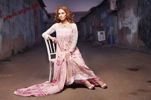 Firdous Designer Paris Linen Winter Collection 2012 004 for women local brands firdous cloth mills