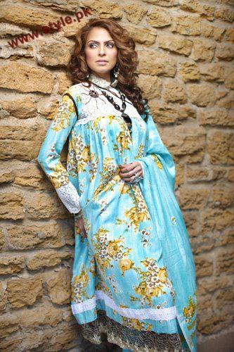 Firdous Designer Paris Linen Winter Collection 2012 005 for women local brands firdous cloth mills
