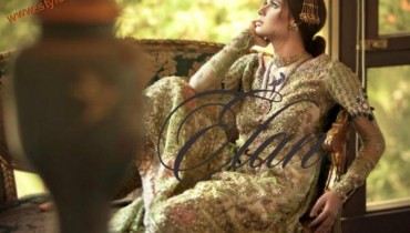 Latest Elan Couture Bridal Winter Wear 2012-004